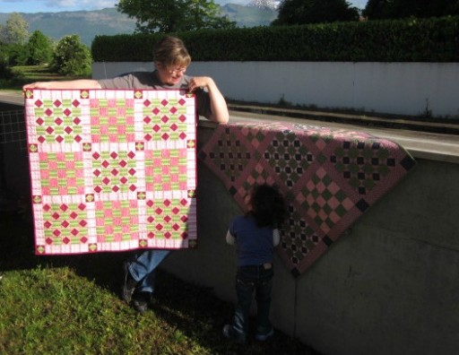 Baby Quilt Photo Shoot